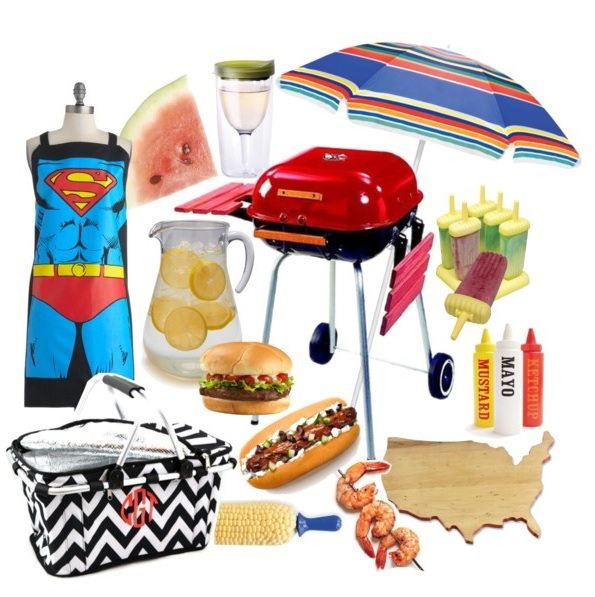 Everything you need for a back to school barbecue.