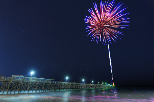 Hot Summer Nights Fireworks in Myrtle Beach, SC