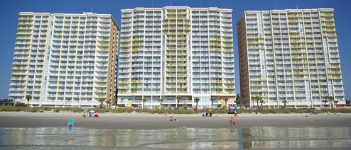 If You Haven T Already Heard About Bay Watch Resort In North Myrtle Beach Have Probably Seen Its Three Large Towers While Driving Down Highway 17 Or